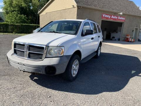 2007 Dodge Durango for sale at VINNY AUTO SALE in Duryea PA
