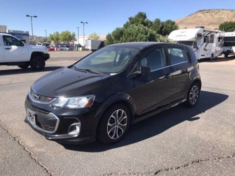 2018 Chevrolet Sonic for sale at Stephen Wade Pre-Owned Supercenter in Saint George UT