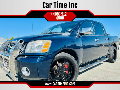 2006 Nissan Titan for sale at Car Time Inc in San Jose CA