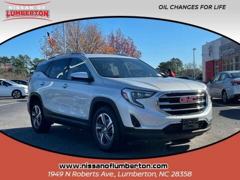 2020 GMC Terrain for sale at Nissan of Lumberton in Lumberton NC