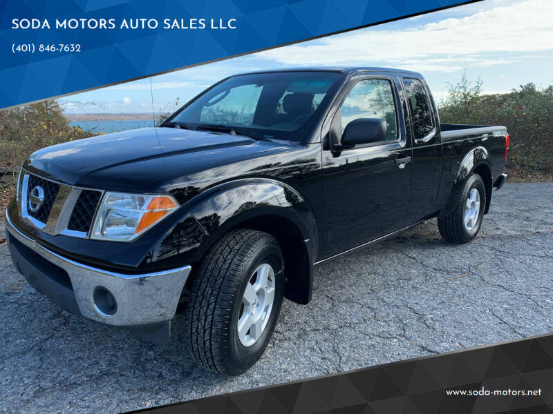 2006 Nissan Frontier for sale at SODA MOTORS AUTO SALES LLC in Newport RI