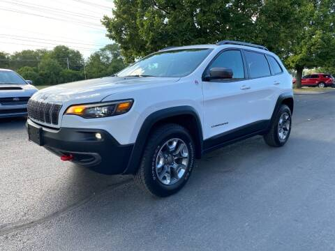 2019 Jeep Cherokee for sale at VK Auto Imports in Wheeling IL