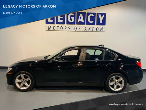 2014 BMW 3 Series for sale at LEGACY MOTORS OF AKRON in Akron OH