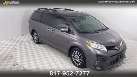 2018 Toyota Sienna for sale at Excellence Auto Direct in Euless TX