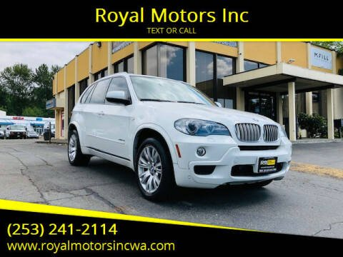 2009 BMW X5 for sale at Royal Motors Inc in Kent WA