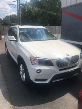 2013 BMW X3 for sale at City to City Auto Sales - Raceway in Richmond VA