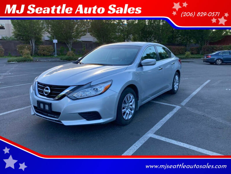 2017 Nissan Altima for sale at MJ Seattle Auto Sales in Kent WA