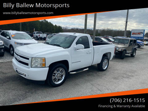 2008 Chevrolet Silverado 1500 for sale at Billy Ballew Motorsports in Dawsonville GA