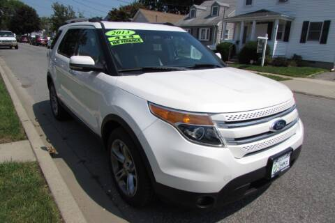 2013 Ford Explorer for sale at First Choice Automobile in Uniondale NY