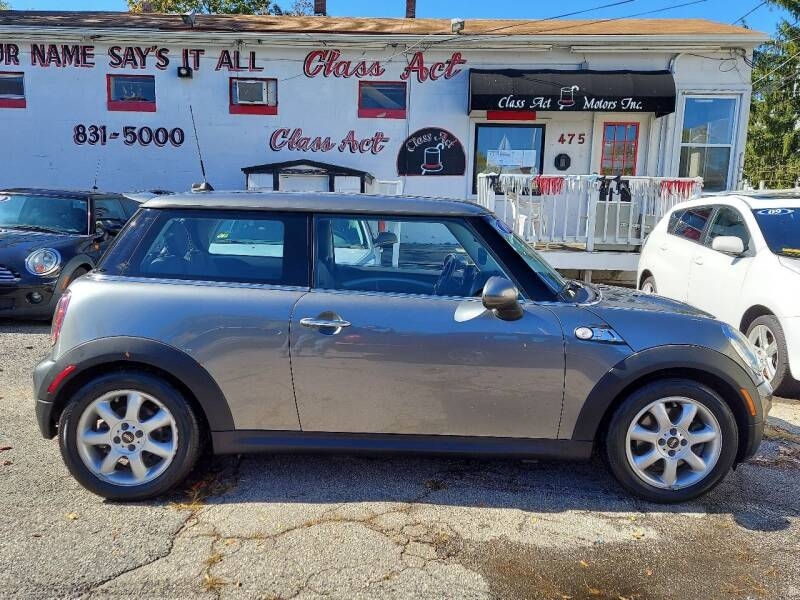 2009 MINI Cooper for sale at Class Act Motors Inc in Providence RI