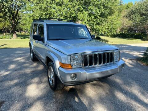 2010 Jeep Commander for sale at CARWIN MOTORS in Katy TX