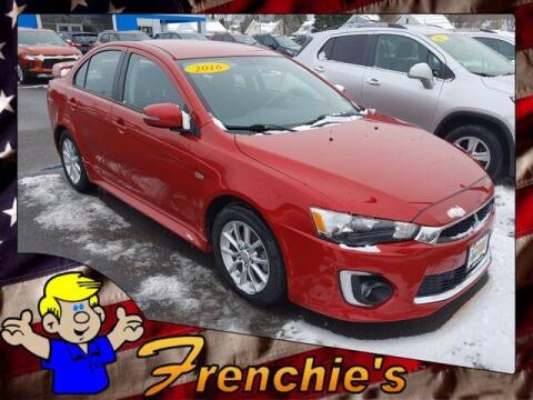 2016 Mitsubishi Lancer for sale at Frenchie's Chevrolet and Selects in Massena NY