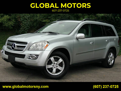 2007 Mercedes-Benz GL-Class for sale at GLOBAL MOTORS in Binghamton NY