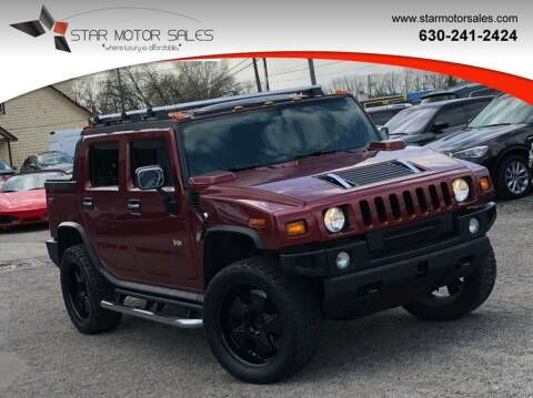 2005 HUMMER H2 SUT for sale at Star Motor Sales in Downers Grove IL