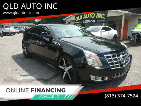 2013 Cadillac CTS for sale at QLD AUTO INC in Tampa FL