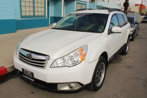 2012 Subaru Outback for sale at FJ Auto Sales in North Hollywood CA