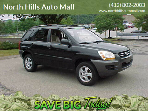 2008 Kia Sportage for sale at North Hills Auto Mall in Pittsburgh PA