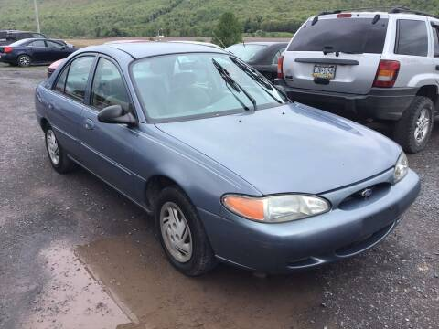 1999 Ford Escort for sale at Troys Auto Sales in Dornsife PA