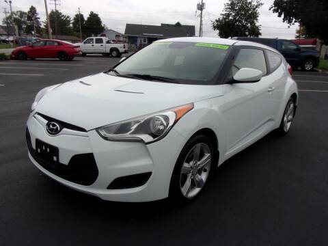 2013 Hyundai Veloster for sale at Ideal Auto Sales, Inc. in Waukesha WI
