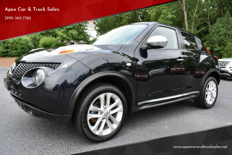 2013 Nissan JUKE for sale at Apex Car & Truck Sales in Apex NC