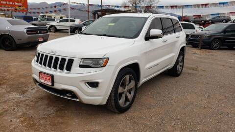 2014 Jeep Grand Cherokee for sale at Bickham Used Cars in Alamogordo NM