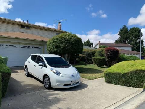 2013 Nissan LEAF for sale at Blue Eagle Motors in Fremont CA