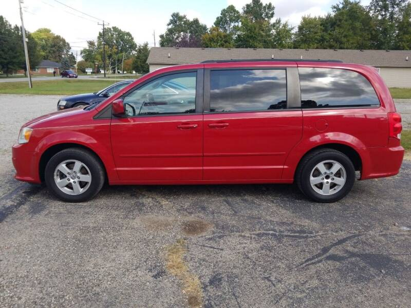 2012 Dodge Grand Caravan for sale at David Shiveley in Mount Orab OH
