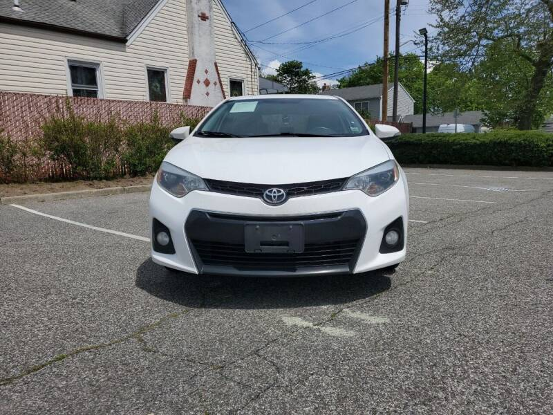 2015 Toyota Corolla for sale at RMB Auto Sales Corp in Copiague NY