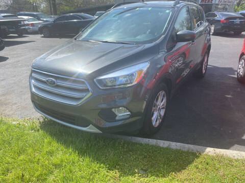 2018 Ford Escape for sale at Right Place Auto Sales in Indianapolis IN