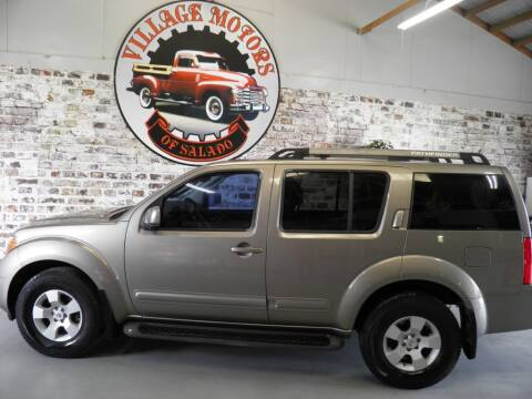 2005 Nissan Pathfinder for sale at Village Motors Of Salado in Salado TX