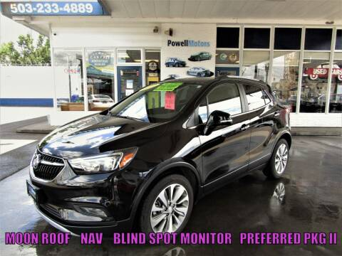 2017 Buick Encore for sale at Powell Motors Inc in Portland OR