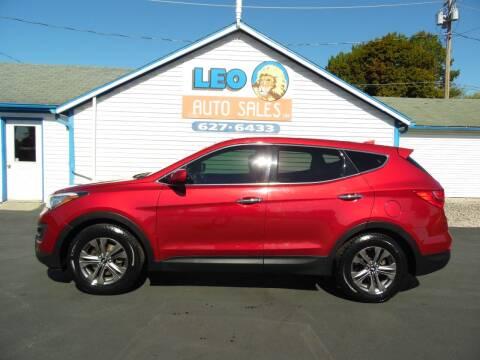 2015 Hyundai Santa Fe Sport for sale at Leo Auto Sales in Leo IN