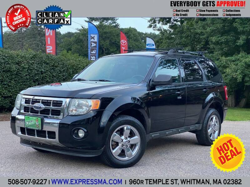 2009 Ford Escape for sale at Auto Sales Express in Whitman MA