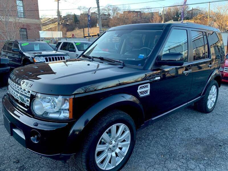 2012 Land Rover LR4 for sale at TD MOTOR LEASING LLC in Staten Island NY