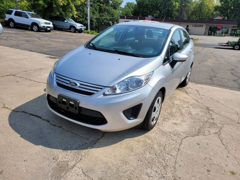 2013 Ford Fiesta for sale at Prime Time Auto LLC in Shakopee MN