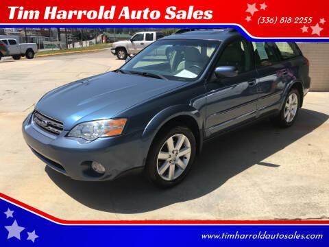 2006 Subaru Outback for sale at Tim Harrold Auto Sales in Wilkesboro NC