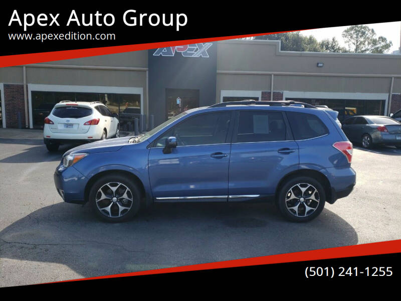 2016 Subaru Forester for sale at Apex Auto Group in Cabot AR