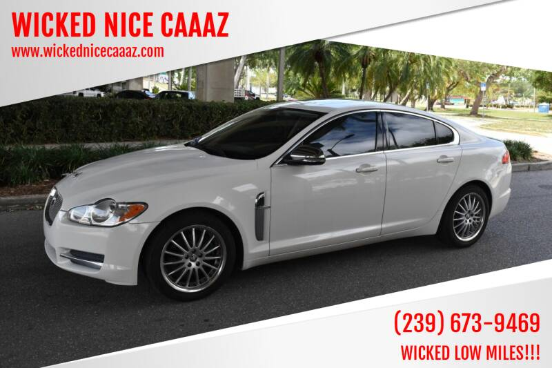 2010 Jaguar XF for sale at WICKED NICE CAAAZ in Cape Coral FL