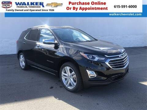 2020 Chevrolet Equinox for sale at WALKER CHEVROLET in Franklin TN