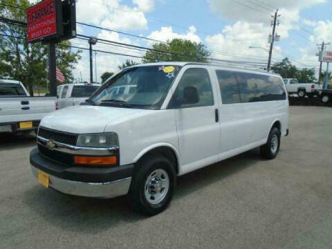 2009 Chevrolet Express Passenger for sale at BAS MOTORS in Houston TX