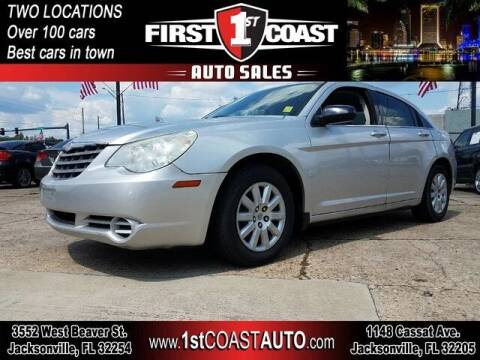2010 Chrysler Sebring for sale at 1st Coast Auto -Cassat Avenue in Jacksonville FL