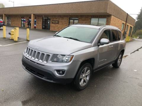 2016 Jeep Compass for sale at KARMA AUTO SALES in Federal Way WA