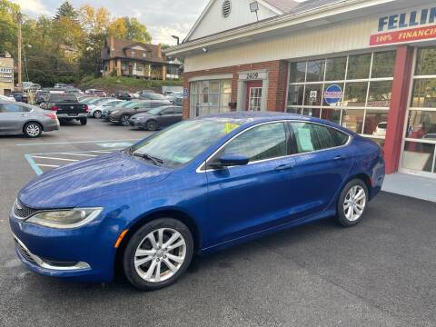 2015 Chrysler 200 for sale at Fellini Auto Sales & Service LLC in Pittsburgh PA