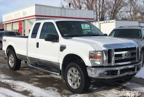 2008 Ford F-250 Super Duty for sale at Central City Auto West in Lewistown MT