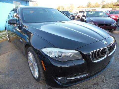 2012 BMW 5 Series for sale at The Peoples Car Company in Jacksonville FL