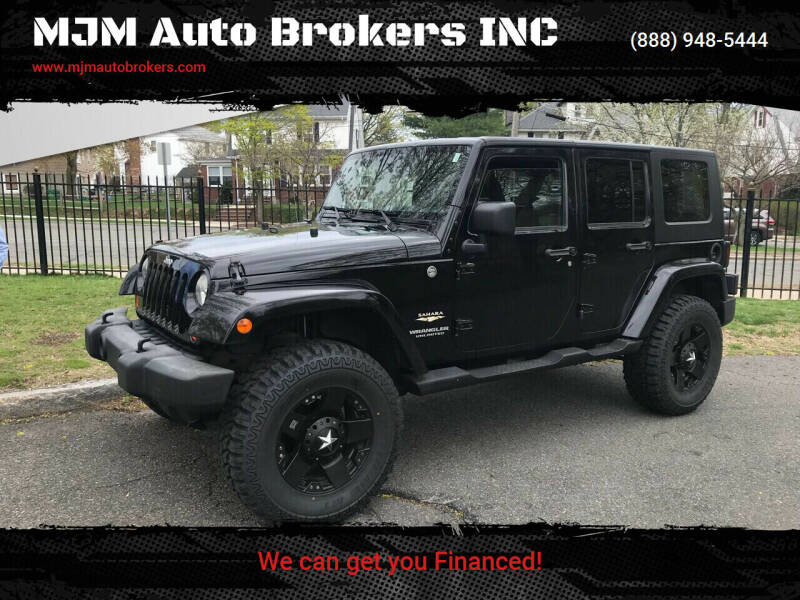2007 Jeep Wrangler Unlimited for sale at MJM Auto Brokers INC in Gloucester MA