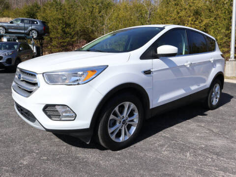 2017 Ford Escape for sale at RUSTY WALLACE KIA OF KNOXVILLE in Knoxville TN