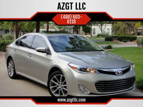2014 Toyota Avalon for sale at AZGT LLC in Phoenix AZ