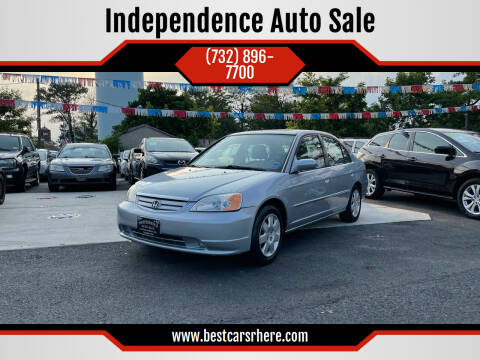 2001 Honda Civic for sale at Independence Auto Sale in Bordentown NJ