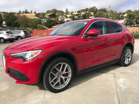 2018 Alfa Romeo Stelvio for sale at MISSION AUTOS in Hayward CA